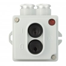 SWITCH 16 A, 250 V, IP 44 (with signal lamp)