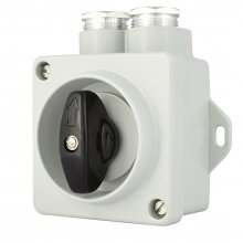 ROTARY SWITCH, 2-POLE,10A, 250V, IP67