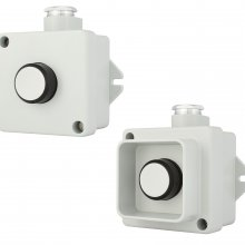 PUSHBUTTON 240V/1A IP67 NO+NC