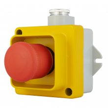 EMERGENCY/STOP PUSH-BUTTON IP67 115-500 VAC