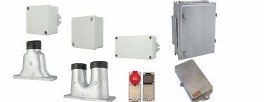 Enclosures in Aluminium and Stainless Steel